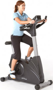 JTX Cyclo-5: Upright Gym Spec Exercise Bike