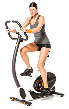 HOMCOM 2 in 1 Upright Exercise Bike