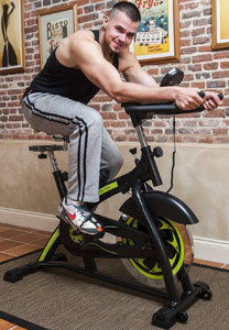 Gym Master Heavy Duty Exercise Bike