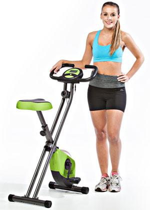 Skandika Foldaway Fitness Bike X1000
