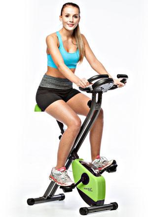 SKandika Foldaway X-1000 Exercise Bike