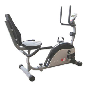 XS Sports Magnetic Recumbent Seated Exercise Bike