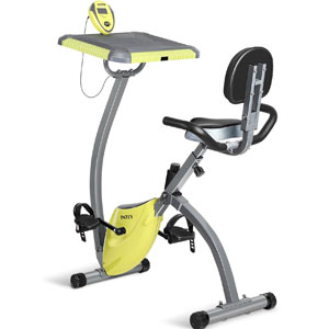 INTEY Exercise Bike For Home With Desktop