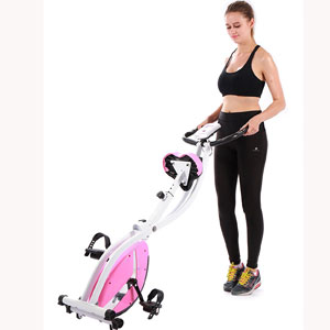 Pleny Foldable Fitness Exercise Bike