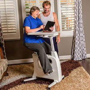 FLEXISPOT Exercise Desk Bike Home Office